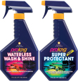 17OZ WATERLESS WASH & SHINE, 17OZ SUPER PROTECTANT